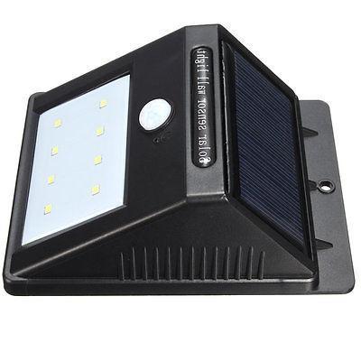 8 Power PIR Motion Light Waterproof Lamp
