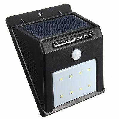 8 LED PIR Light Outdoor Garden
