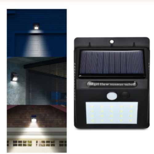 8 solar power pir motion