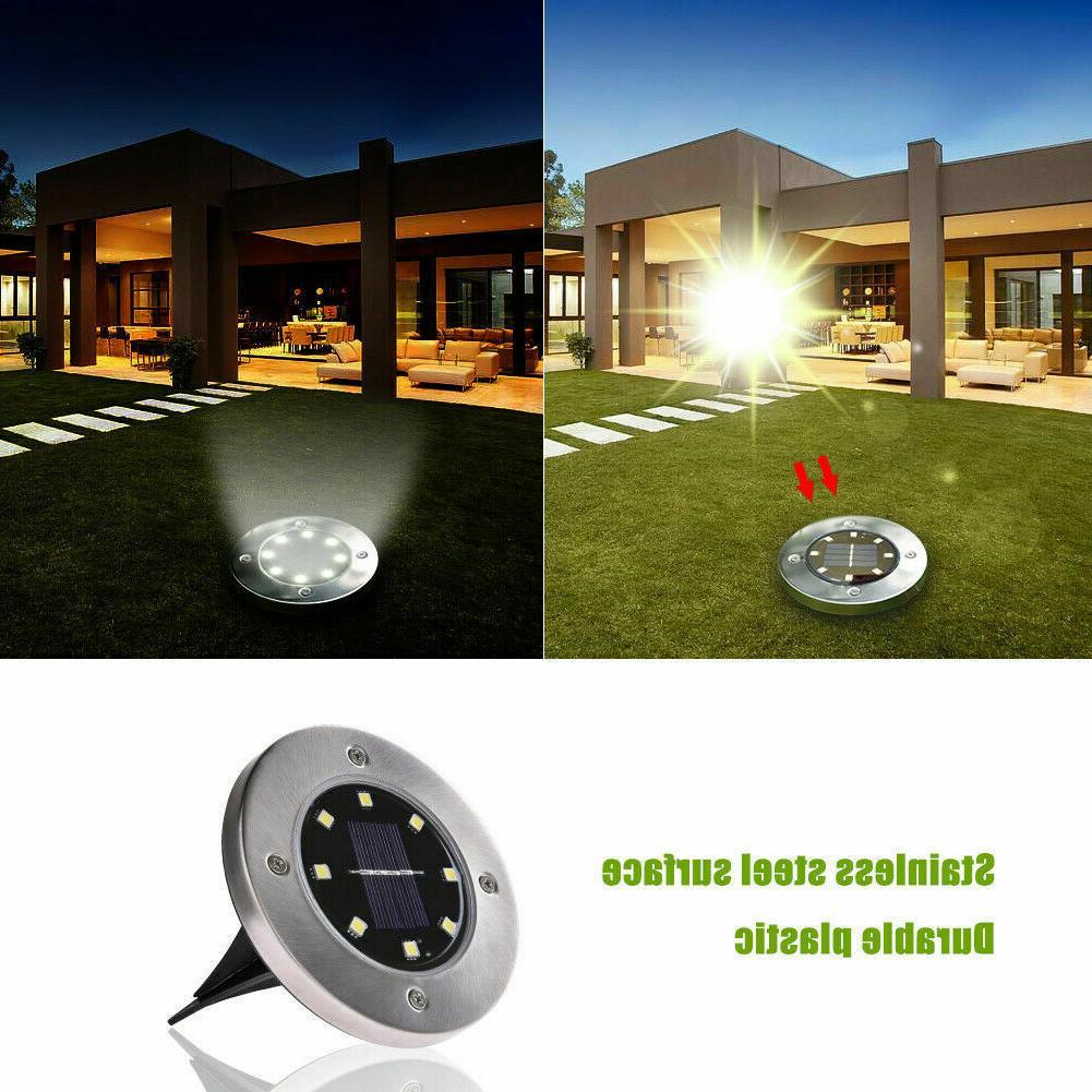8 12LED Power Light Ground Path Lamp