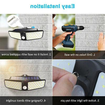 80LED Solar Light Motion Sensor