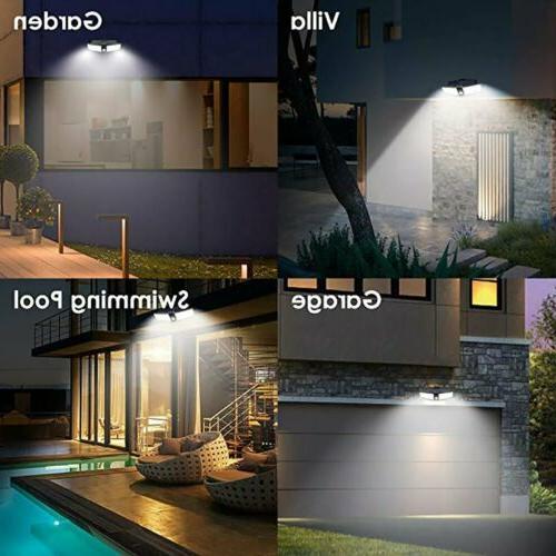 80LED Dual Solar Light Sensor Outdoor Floodlight