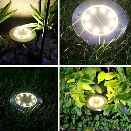 8LED Solar Ground Path US!!