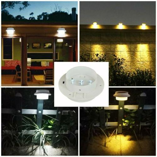 8x Solar Light Garden Gutter WarmCool