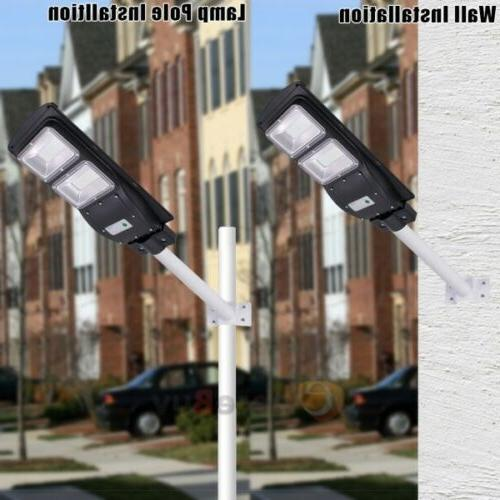 900000LM LED Outdoor Dusk-to-Dawn Area Road Spotlight