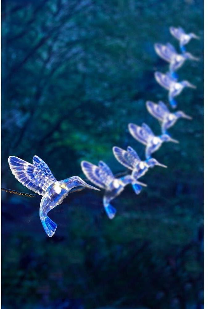 91142 solar powered hummingbird string