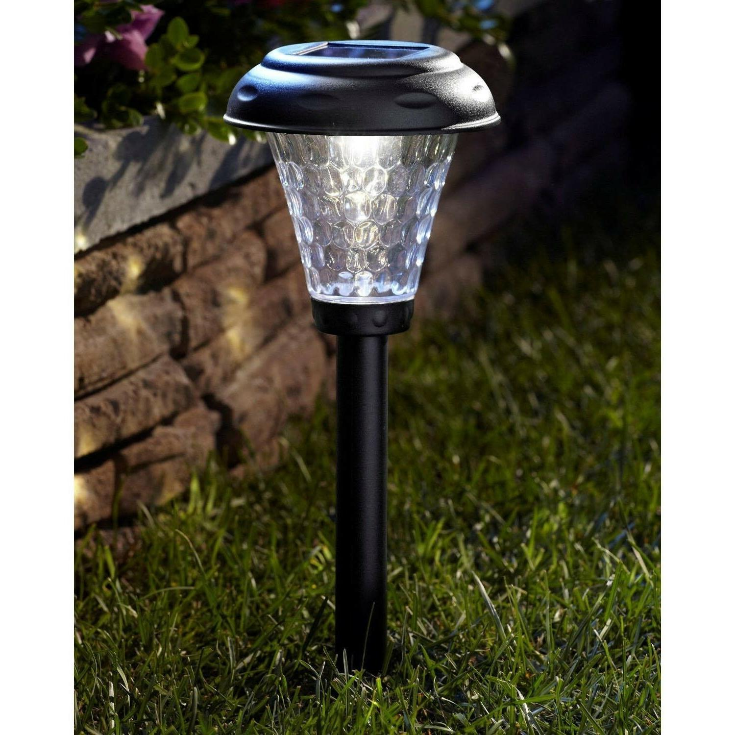 Moonrays 91381 Payton-Style Solar Powered LED Path Lights, S