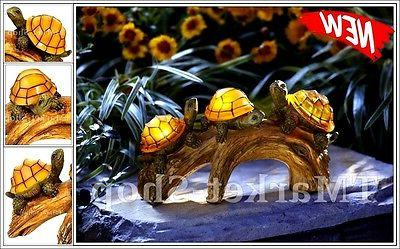 91515 turtles a log solar
