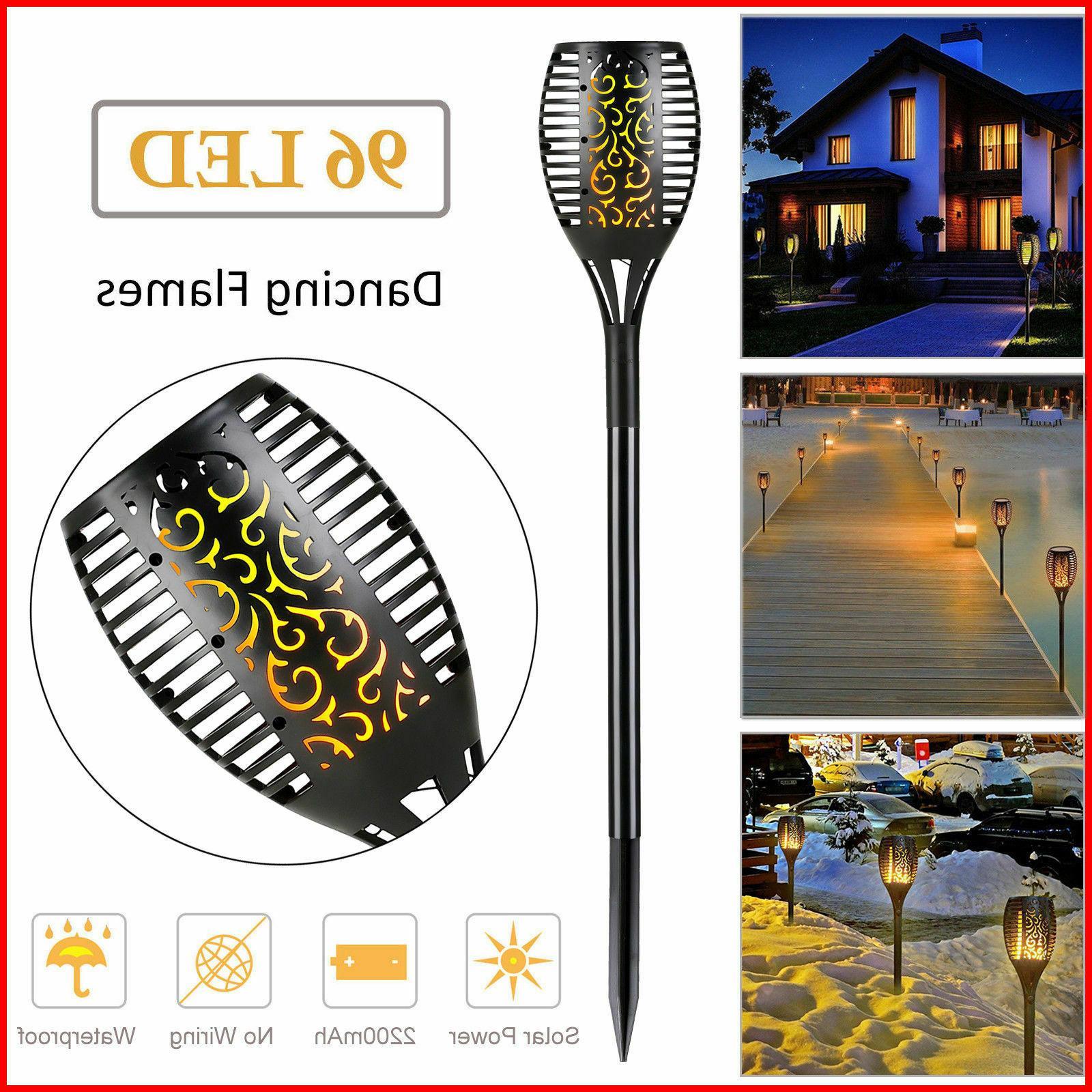 96 led 3 lighting modes solar torch