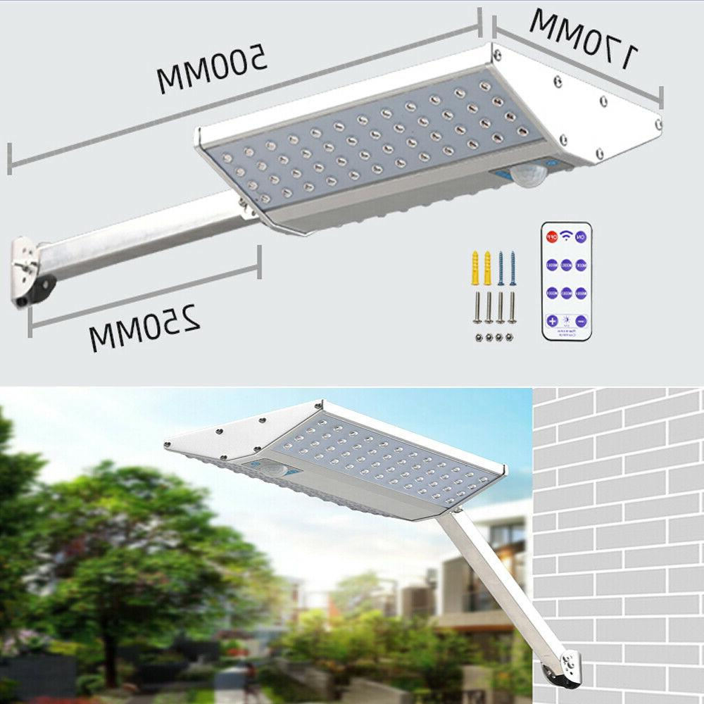 96 Outdoor with Pole Bright Remote
