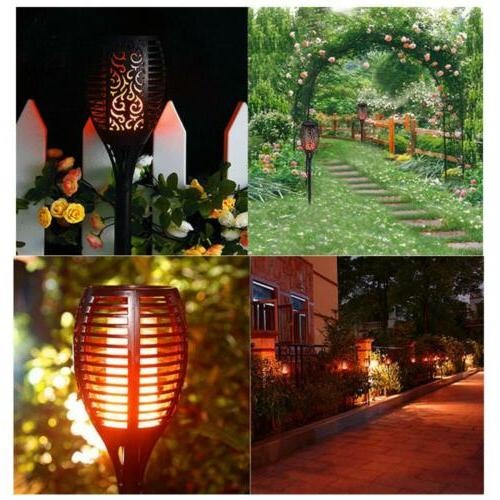 96 LED Lights Outdoor Flame Waterproof for