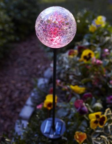 Moonrays Solar Powered Color-Changing LED Globe