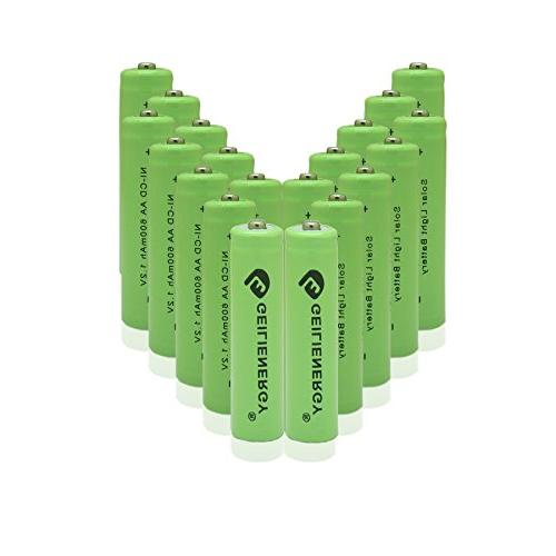 GEILIENERGY 1.2v NiCd AA 600mAh Rechargeable Battery for Sol