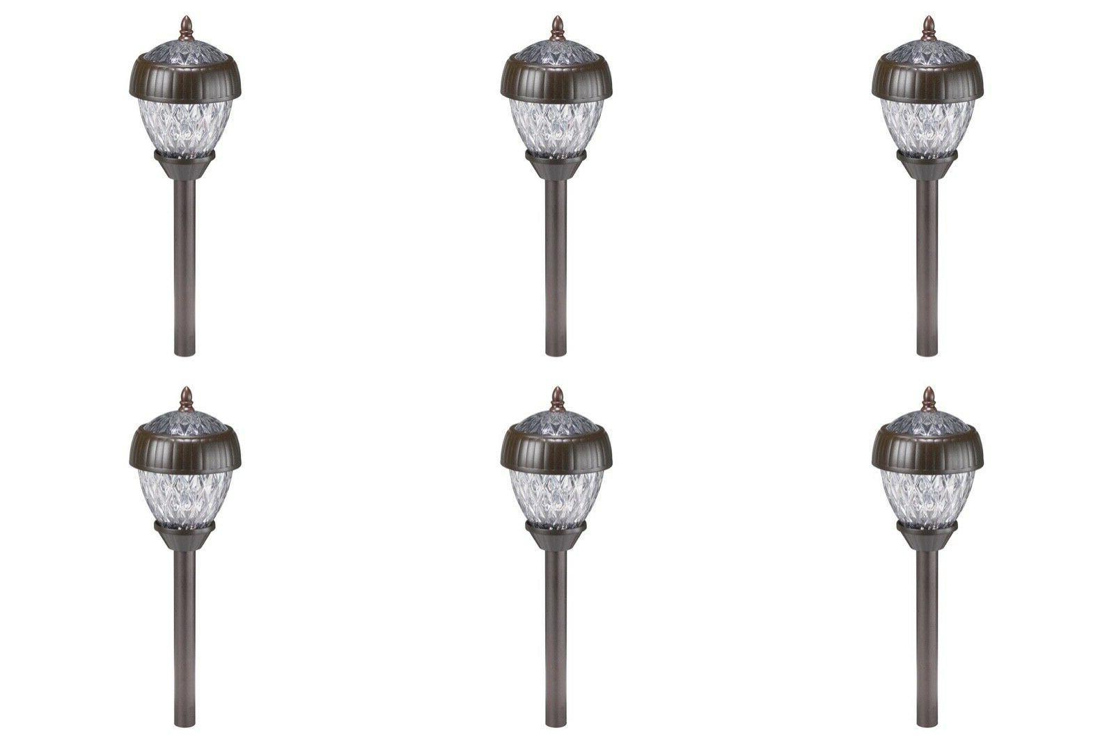 acorn 2 light solar pathway led bulbs