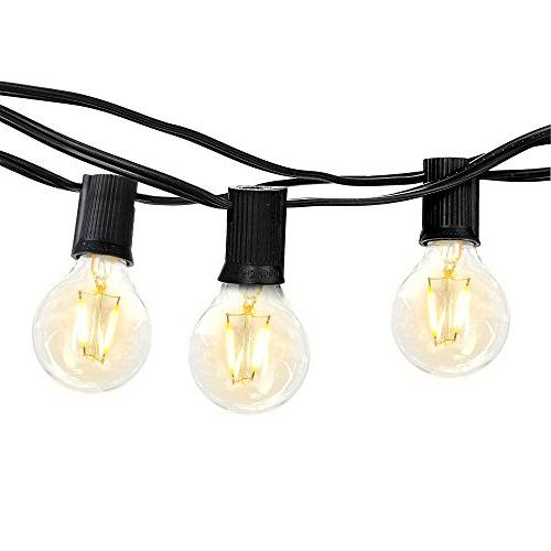 ambience globe string lights
