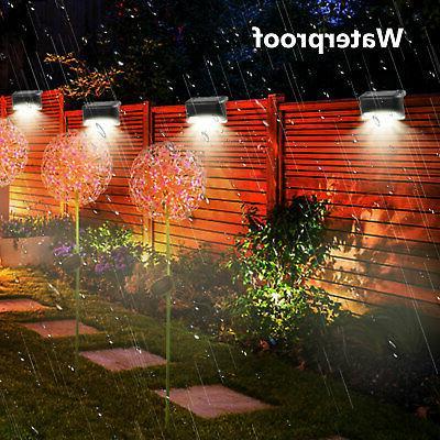 4 Solar Deck Outdoor Garden Patio Decks Lighting