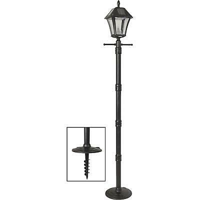 baytown ii solar lamp post