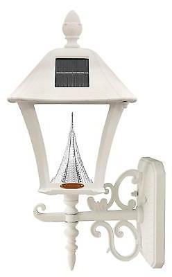 Gama Sonic Baytown Solar Outdoor LED Light Fixture, Pole/Pos