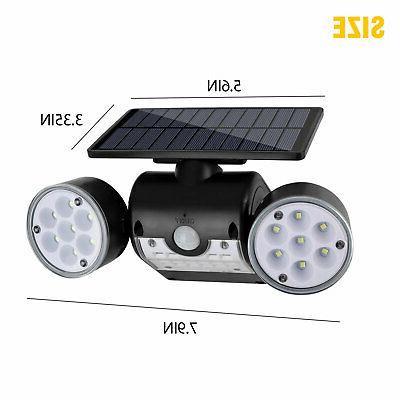 Outdoor Solar Sensor Lights Lamp