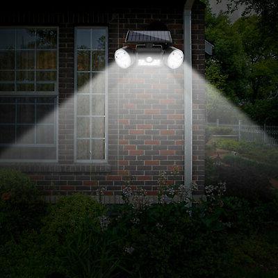 Outdoor Solar Power Motion Sensor Flood 30 PIR Lamp