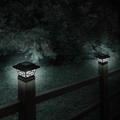 WESTINGHOUSE Black Lumens Solar Fence Cap