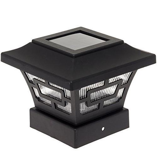 WESTINGHOUSE Black 20 Lumens Solar Cap Lights