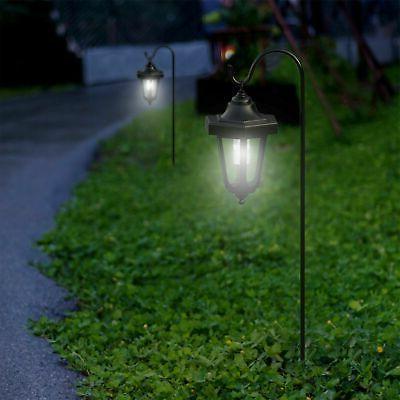 black solar hanging coach lanterns