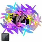 Vmanoo Christmas Solar Lights 15.5ft 20 LED 8 Modes Multi Co