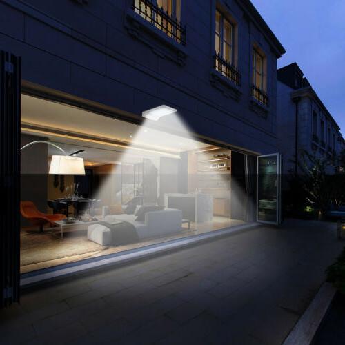 Cinoton Porch Patio Lights 72 Solar Motion