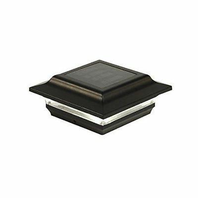 Classy Caps Mfg Inc SL211B 4X4 BLACK ALUMINUM IMPERIAL SOLAR