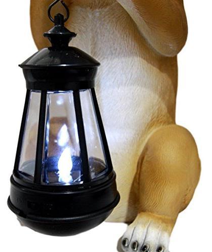 Atlantic Collectibles Mexican Aye Garden Solar LED Lamp