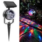 Outdoor Garden Lawn Decor Colorful Lamp Rotating Solar LED P