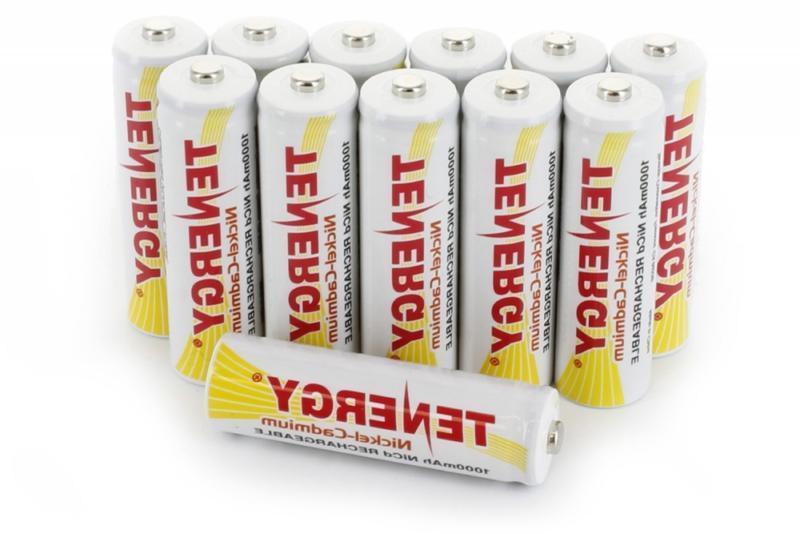 combo 12 aa nicd rechargeable