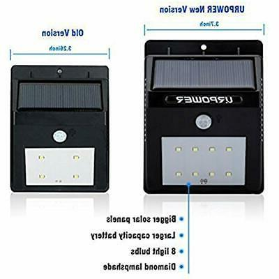 Flood & Security Lights URPOWER Solar Wireless Motion Sensor Outdoor