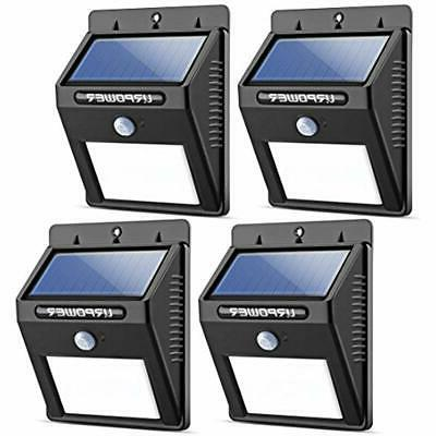 flood and security lights solar wireless waterproof