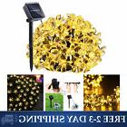 Qedertek Flower Solar String Lights, 21ft 50 LED Fairy Garde
