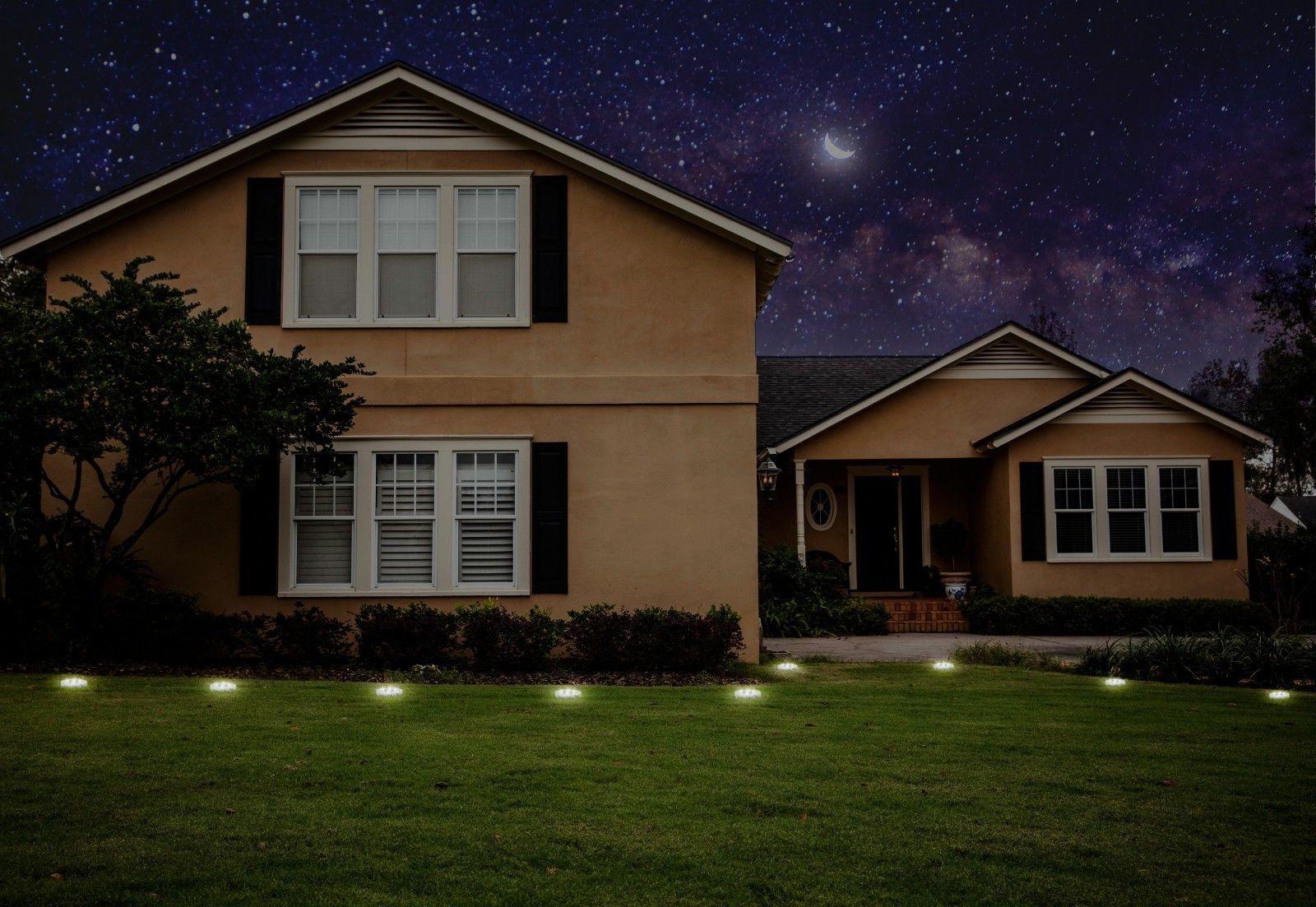 Garden Solar Ground Lights LED 4