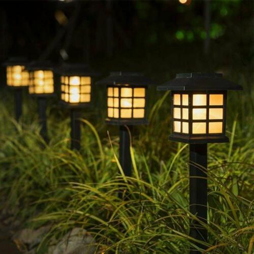 Outdoor Garden Solar Power Pathway Lights Outdoor Landscape