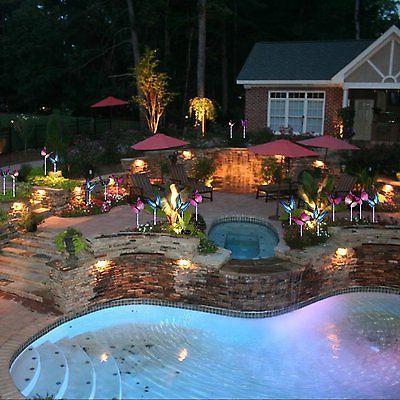 Doingart Lights Outdoor Solar LED