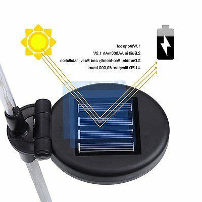 Doingart Solar Outdoor 3 Solar Stake Light LED