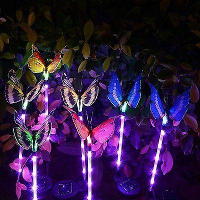Doingart Garden Outdoor Solar Stake LED
