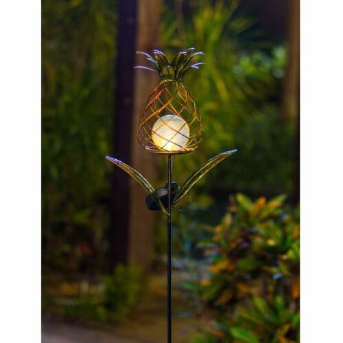 Garden Solar Pineapple Lights Decorative Walkway
