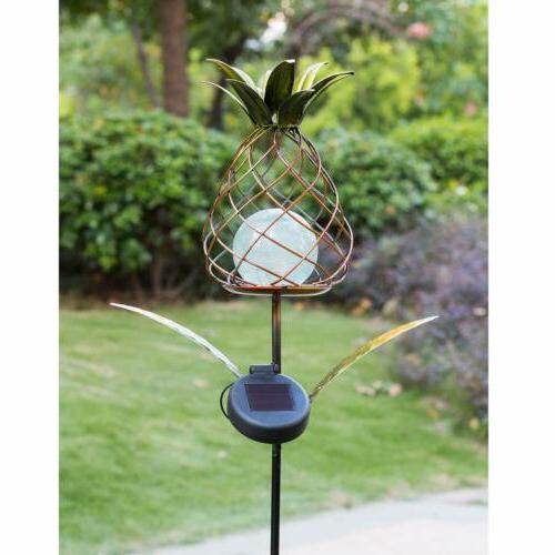 Garden Pineapple Decorative Stake Walkway