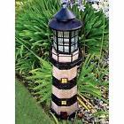 garden sunlight c5116g solar lighthouse garden decor