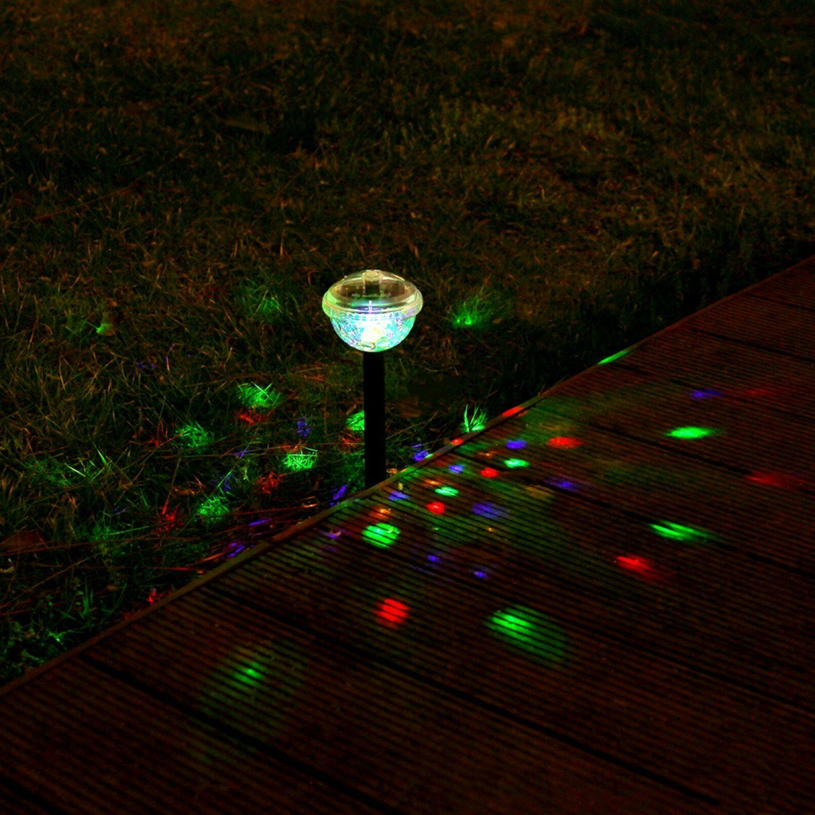 GIGALUMI Solar Color Changing Garden Light 1 Pack