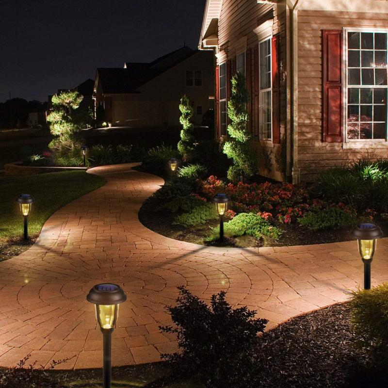 GIGALUMI Pathway Outdoor 8 LED Solar