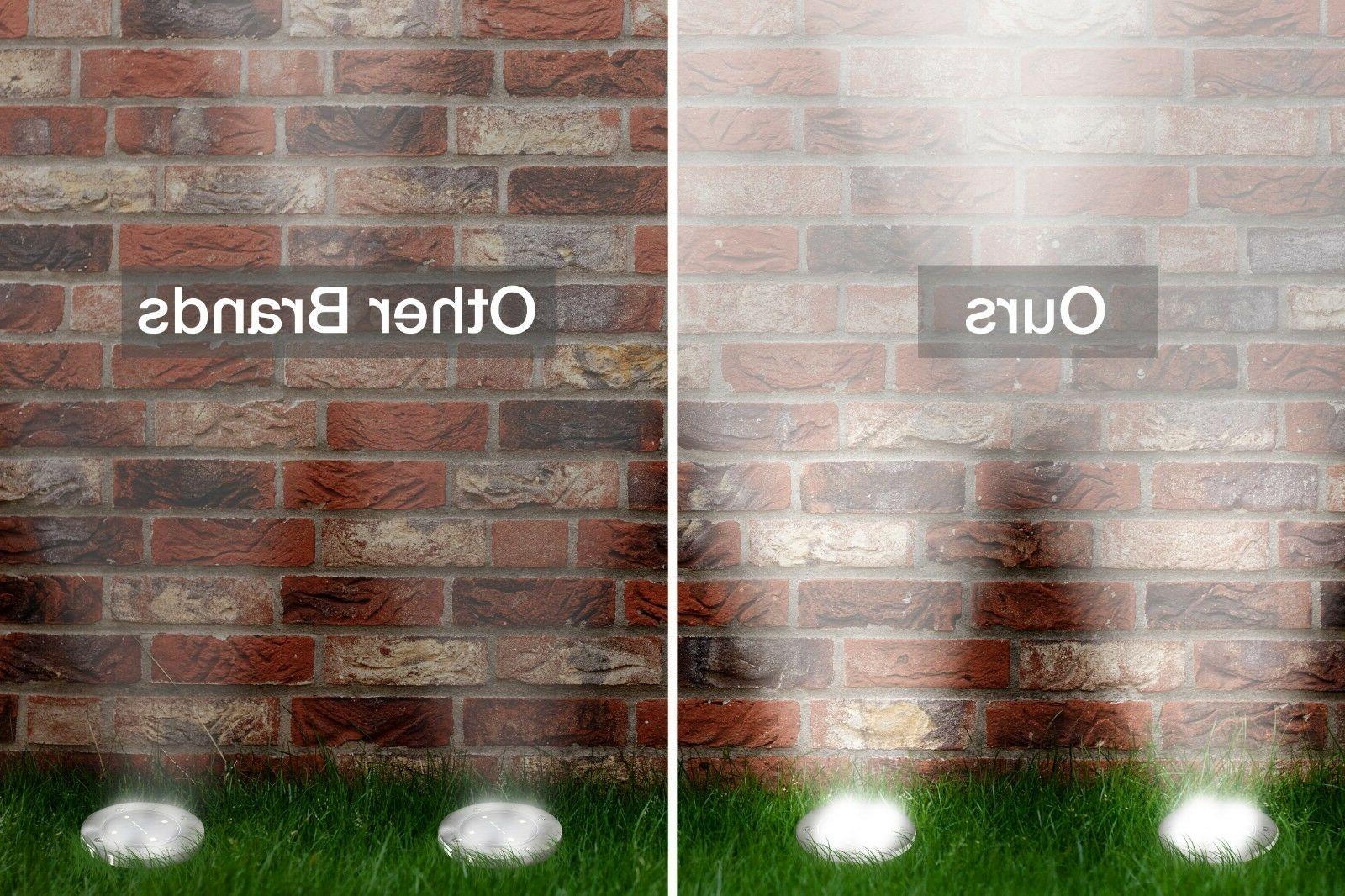 Ground Lights 8 LED Outdoor