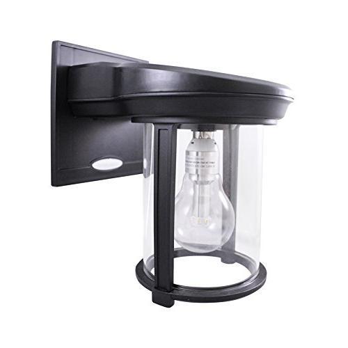 Gama Lantern Outdoor Fixture, Sconce, Warm LED,