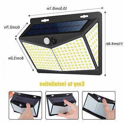 208 Lights PIR Motion Sensor Wall Outdoor