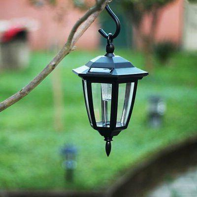 Maggift Solar Lantern Outdoor Path Lights, 2